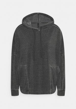 LIFESTYLE RELAXED HOODIE - Sweatshirt - washed black