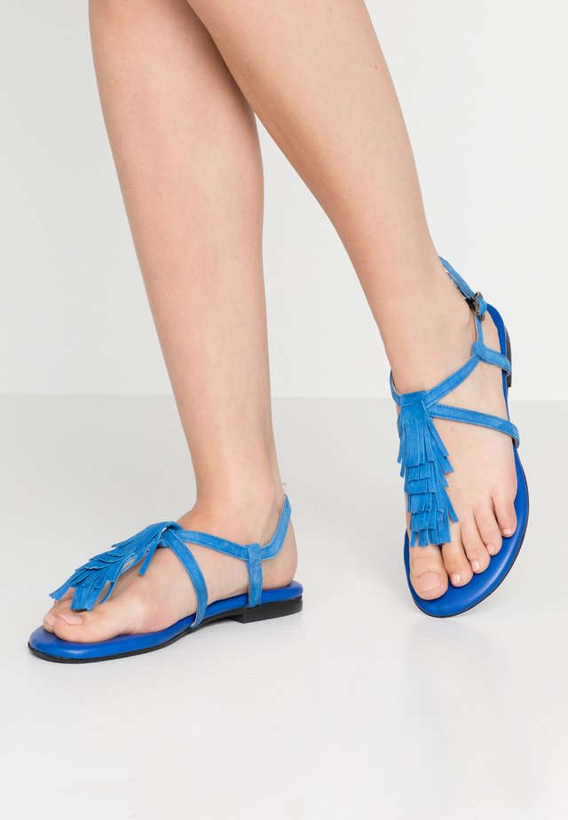 T-bar sandals - bluette