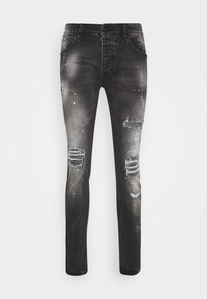 VITO DENIM - Skinny džíny - black