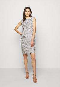Lauren Ralph Lauren - DRESS - Denní šaty - taupe/zinc grey - 1