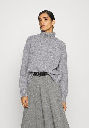WOMEN - Jumper - grey heather melange