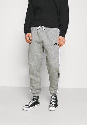 Pantalones deportivos - dark grey heather/white/charcoal heather/black