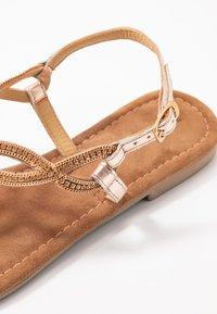 Lazamani - Flip Flops - peach - 2