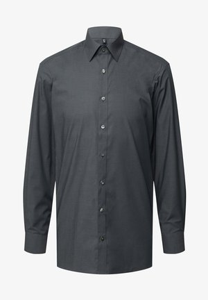 SLIM FIT BUSINESS MIT STRETCH-ANTEIL - Formal shirt - anthrazit