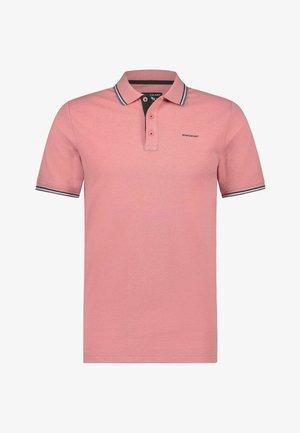 Poloshirt - pink/dark green