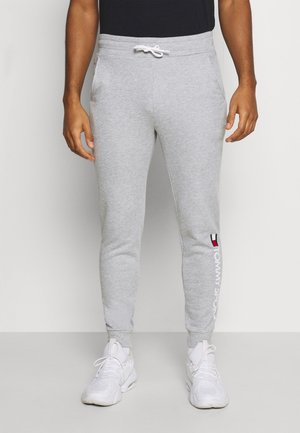 CUFF PANT LOGO - Tracksuit bottoms - grey