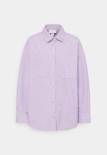CONNY  SHIRT - Button-down blouse - purple solid