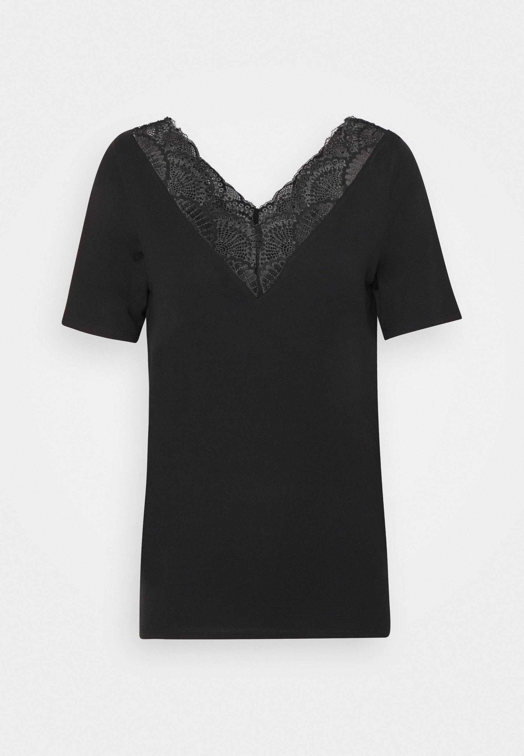 Damen VMAVA V-NECK - T-Shirt print