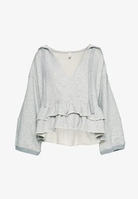 Free People - SIDE SWEPT HOODIE - Hoodie - grey - 3