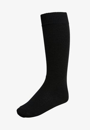 COMFORT WOOL - Knæstrømper - black