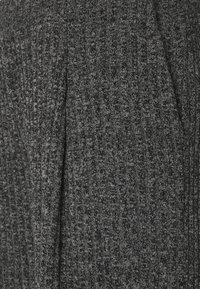 Banana Republic - WIDE LEG BRUSHED PANT - Trousers - marl heather - 2