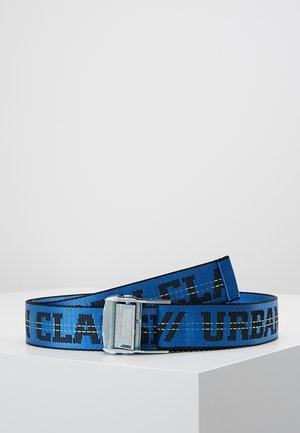WORKER BELT - Belt - black/blue/frozen yellow