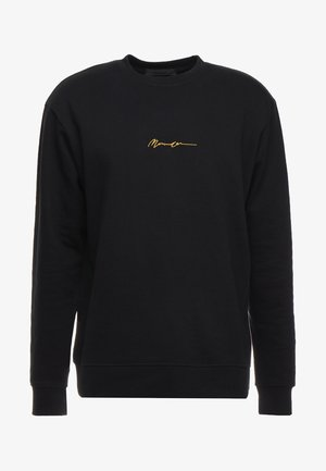 ESSENTIAL REGULAR SIGNATURE - Sweatshirt - black