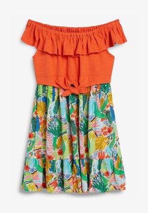 BARDOT KNOT  - Day dress - orange