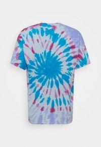 Vintage Supply - TIE DYE MUSHROOM TEE - Print T-shirt - blue - 1