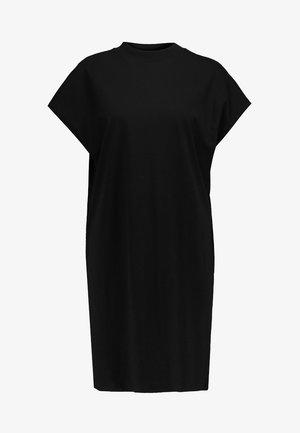 PRIME DRESS - Jersey dress - black