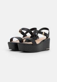 ALDO - ELOINIEL - Platform sandals - black - 2
