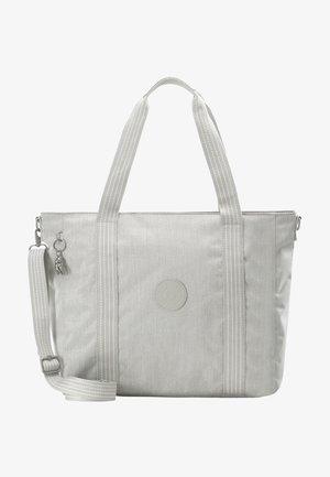 ASSENI - Bolso shopping - grey beige