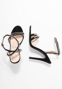 BEBO - NATALIE - Sandály na vysokém podpatku - black - 3