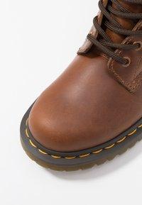 Dr. Martens - 1460 SERENA - Lace-up ankle boots - butterscotch orleans - 2