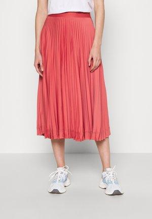 SUNRAY PLEAT SKIRT - Áčková sukně - antique pink