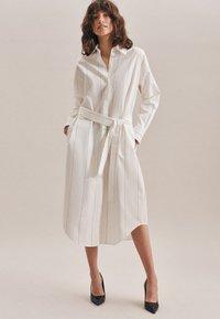 Seidensticker - Shirt dress - ecru - 0