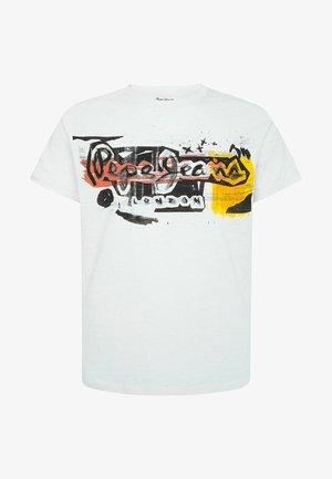 AMERSHAM - Camiseta estampada - blanco off