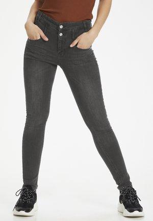 THE FIOLA FREE - Jeans Skinny Fit - medium grey wash