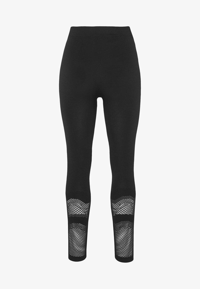 ONLY PLAY Petite - ONPADELYNN CIRCULAR TIGHTS  - Leggings - black