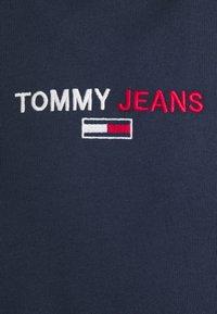 Tommy Jeans - LINEAR LOGO HOODIE UNISEX - Hoodie - blue - 5