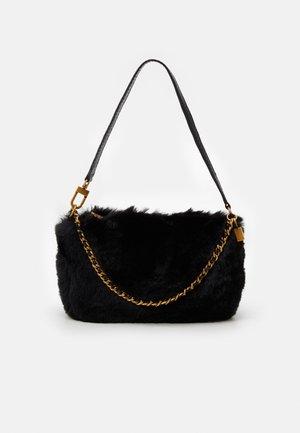 KATEY LUXE MINI TOP ZIP - Handbag - black