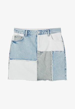 Mini skirt - light blue