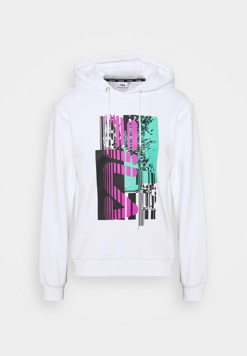 Fila - ADISH HOODY - Sweatshirt - bright white