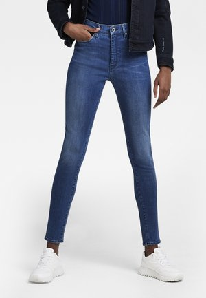 G-STAR SHAPE HIGH SUPER SKINNY - Jeans Skinny - faded moroz blue
