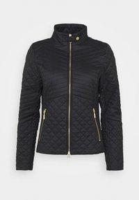 Barbour International - FORMATION QUILT - Light jacket - black - 0