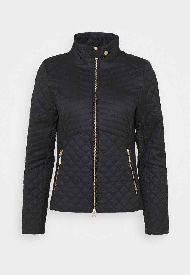 FORMATION QUILT - Light jacket - black