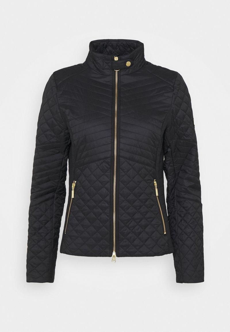 Barbour International - FORMATION QUILT - Light jacket - black