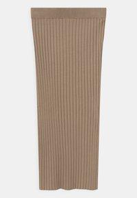 Grunt - ELSE  - Maxi skirt - sand - 1
