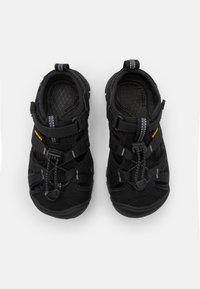 Keen - SEACAMP II CNX UNISEX - Walking sandals - black/steel grey - 3