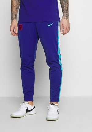 FC BARCELONA PANT TAPE - Club wear - deep royal blue/oracle aqua