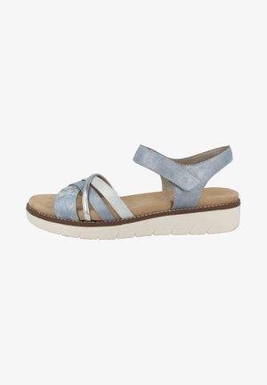 Sandals - heaven argento blue ice