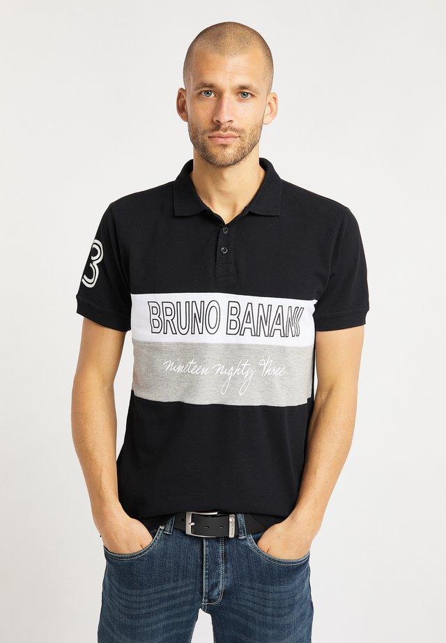 Poloshirts - schwarz