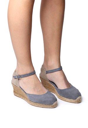 LLORET - Scarpe con plateau - grey