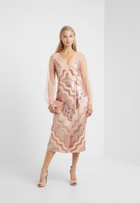 Three Floor - WRAP IT DRESS - Cocktail dress / Party dress - dusty pink/faded rose - 1