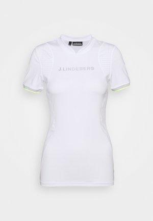 KENZIE GOLF - Print T-shirt - white