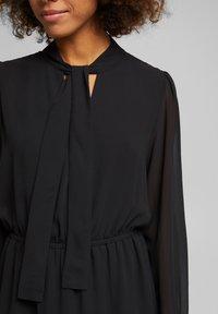 Esprit - FASHION - Day dress - black - 4