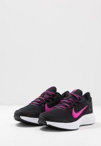 Nike Performance - RUNALLDAY 2 - Juoksukenkä/neutraalit - black/pure platinum/fire pink - 2