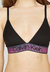 Calvin Klein Underwear - TONAL LOGO UNLINED - Triangel-BH - black - 5