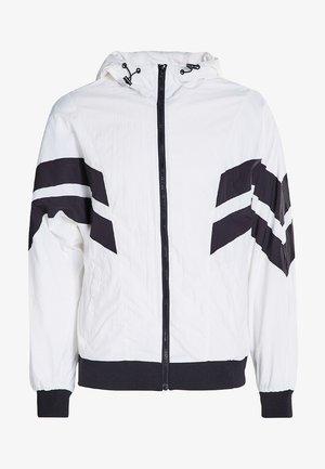 Summer jacket - wht/blk