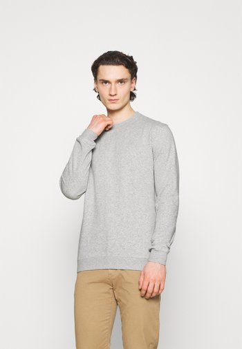 ESSENTIAL CREW - Sweatshirt - light grey marle